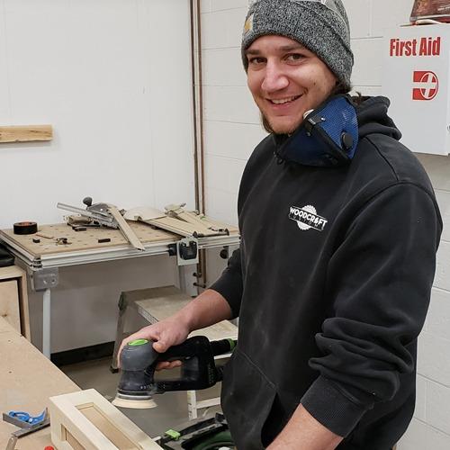 Josh Yaroch Craftsman Installer Woodcraft Customs